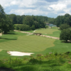 A sunny day view from John A. White Golf Course.