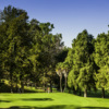 A sunny day view from Rancho Park Golf Course.