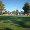 A view of a green at Lake View Golf Course.