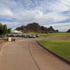 A view of the driving range at Papago Golf Course.
