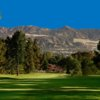 A view of a fairway at DeBell Golf Club.