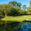 A view of the 8th hole at Caledonia Golf & Fish Club.