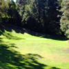 A view of hole #1 at Short from Lake Chabot Municipal Golf Course.