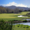 A view of a fairway at Shady Canyon Golf Club.