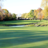 A fall day view of a hole at Calumet Country Club.