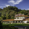 A view of the clubhouse at Wilson from Griffith Park Golf Courses