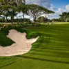 View of the 1st fairway and green from the The Palms at Sanctuary Cove Resort