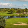 View of the finishing hole from the Championship course at Greenacres Golf Centre