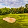 A sunny day view of a hole at Lancaster Golf Club.