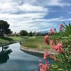 A view over the water from Spanish Trail Country Club.