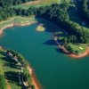 Aerial view of Lanier Islands Legacy Golf Course