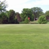 View of a green at New Hope Village Golf Course