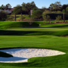 A view of green #3 at The Stadium Course from TPC Scottsdale.