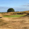 View of a green at Arbroath Links Golf Course