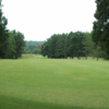 A view of a hole at Wolf Creek Golf Course.