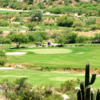 A view of a hole at Apache Stronghold Golf Course.