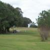 A view of a tee at Green Valley Country Club.