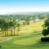 A sunny day view from Harbor Hills Country Club.