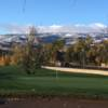 View from the 14th green at Washoe Golf Course