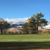 View from the 18th fairway at Washoe Golf Course