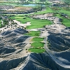 The third hole on the North Course at The Golf Club at Terra Lago offers a dramatic, elevated view of the entire area.