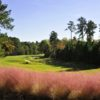 A view of a fairway at UNC Finley Golf Course.