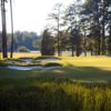 A view of fairway #11 at UNC Finley Golf Course.