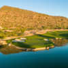 View of the 9th green at The Phoenician Golf Club
