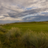 A view of hole #9 at Brora Golf Club.