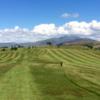 A view of a fairway at Cockermouth Golf Club.