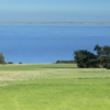 A view from a tee at Walmer & Kingsdown Golf Club.