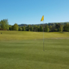 A view of green #4 at Dougalston Golf Club.
