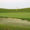 A view of a hole at Wildhorse Golf Course.