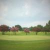 A view of a green at Squirrel Run Golf Club.