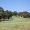 A view of fairway #7 at Mount Martha Public Golf Course.
