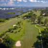 Aerial view of the Lake Worth Golf Course