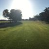 A view of tee #1 at Monterey Pines Golf Club.