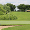 A sunny day view of a hole at Mission Del Lago Municipal Golf Course.