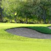 A sunny day view of a hole at SilverHorn Golf Club of Texas.