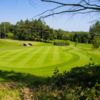 A view of a green at Castlereagh Hills Golf Club.