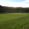 View of a green at Bushfoot Golf Club