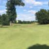 A view of the 14th hole at Angels Crossing Golf Club.