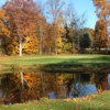 A splendid fall day view of a green at Brookshire Inn & Golf Club.