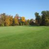 A fall day view of a green from The Majestic At Lake Walden.