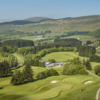 Aerial view from Muckhart Golf Club