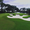 View of a green at Oyster Reef Golf Course