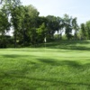 A view of a hole at Edgewood Golf Club.