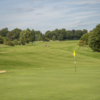 Looking back from a green at Hurtmore Golf Club