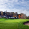 View of the clubhouse at Bramley Golf Club