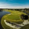 525-yard, par 5 Signature 7th, regarded as one of the most challenging holes in Central Florida.